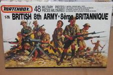 MATCHBOX (40905):  British 8Th Army au 1/76
