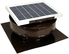 Roof Solar Powered Attic Fan Air Ventilation Mounted Exhaust Vent Coated Heat