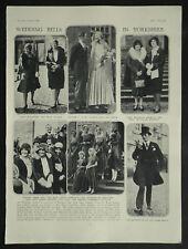 Bramham Park Wedding Francis Ward Jackson Marcia Lane-Fox 1929 Photo Article