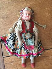 Antique hongrois Cloth Doll
