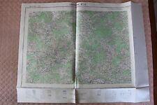 Carte de France 1/25000 Lamastre n° 1-2. Institut Géographique National. 1957