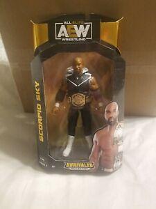 AEW Scorpio Sky Unrivaled Series #5 Figure JAZWARES NEW Sealed IN HAND Wrestling