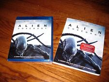 Alien: Covenant; Michael Fassbender] Blu-ray/ DVD +Digital HD] New + I Ship Fast