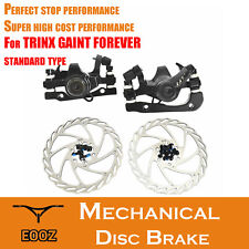 MTB Bicycle Mechanical Disc Brake Calipers pair Front & Rear