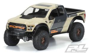 "Pro-Line 3516-00 2017 Ford F-150 Raptor 12.3"" Rock Crawler Body (Clear)"