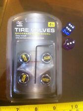 Válvula de válvulas de neumáticos nos Tapa DECORAR COCHE RUEDA RUEDAS logotipo Motif 4Pcs Nuevo