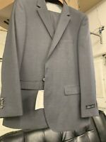New 48L Men's Medium Grey Suit 100% Wool Super 150 Made in Italy Retail $1295