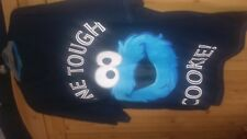NEW Ladies Sesame street character 'Cookie Monster' T-shirt size large