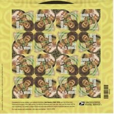 2014 Jimi Hendrix Sheet of 16 Forever Stamps Scott 4880