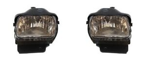 Fog Lamps For 2005-2006 Chevrolet Silverado (07 Classic) BOTH Left & Right Side