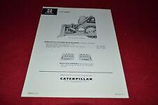 Caterpillar 5A 5S Bulldozer For D5 Tractor Dealers Brochure BWPA