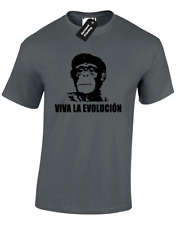 VIVA LA EVOLUCION MENS T SHIRT TOP FUNNY CHE GUEVARA REVOLUTION ICONIC COMMUNIST