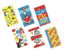 Dr. Seuss Cat in the Hat Kids Gift 12 Count Mini Notepads New In Packaging!