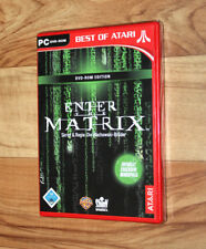 Enter the Matrix Best of Atari PC DVD-ROM OVP todavía en lámina rar