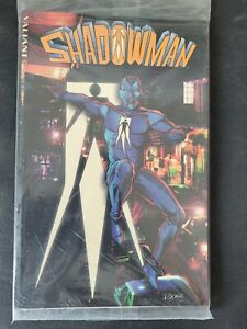 SHADOWMAN TPB COLLECTION 1994 VALIANT COMICS POLYBAGGED with DARQUE PASSAGES #1