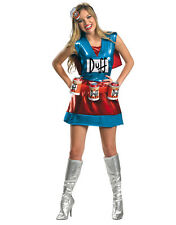 """Duffwoman Dlx Womens Outfit,Medium, (USA 8 - 10), BUST 35 - 37"""", WAIST 27 - 29"""""""