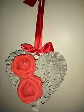 Shabby Chic De San Valentín Corazón De Mimbre Mediano también Boda Pew/Silla Decoración
