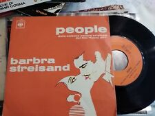 """7"""" OST FUNNY GIRL BARBRA STREISAND PEOPLE I'M WOMAN YOU ARE MAN EX++"""