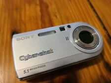 Sony Cyber-shot DSC-P100 5.1MP Digital Camera - Silver