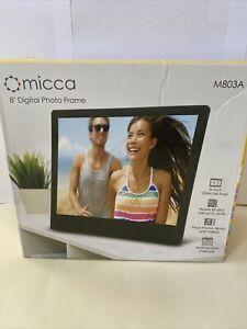Micca N8 8-Inch (Diagonal) Natural View High Resolution Digital Photo Frame New