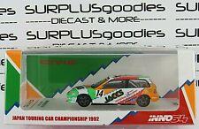 INNO64 1:64 1992 HONDA CIVIC EF9 #14 JACCS JTC Japan Touring Car Championship