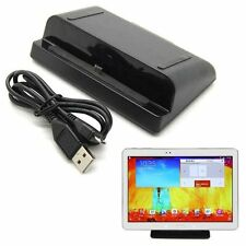 USB Charging Dock Cradle Stand Station For Samsung Galaxy Tab 3 7 8 10.1 P600