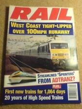 RAIL - 20yrs HIGH SPEED TRAINS - 25 Sept 1996 # 288