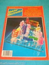 ELEKTOR - CONSTRUCTION PROJECTS - DEC 1990 #184 SUPPLEMENT