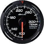 DEFI White Racer Temperature Meter Gauge F˚ WHITE DF06703