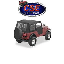 51597-15 Bestop Black Denim Supertop Soft Top Jeep CJ5 1976-1983