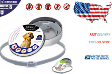 Dewel Collar for dog Cat Pet Anti Flea Tick Mosquitoes Insect Outdoor Protective