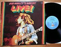 Bob Marley and the Wailers - Live - GER 1975 - Island 89 729 XOT - Reggae - TOP