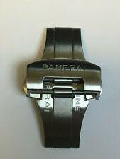 Boucle déployante pour bracelet de montre PANERAI argent 20 mm 22mm