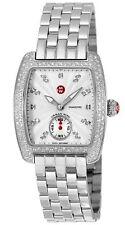Michele Urban Mini Diamonds Chronograph Silver Tone Women's Watch MWW02A000508
