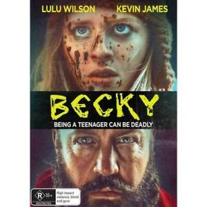 Becky (DVD, 2020) Lulu Wilson. Like New Condition. Region:4