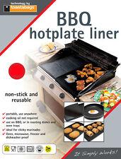 BBQ Hotplate Liner, 40 x 50cm, Easy clean, Non-Stick - Reusable. BQHPL4050PT