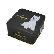Westie Luxury Shortbread Biscuits- Square Tin 125g