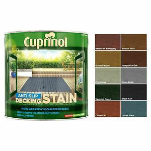 Cuprinol - Anti Slip Decking Stain Hard Wearing - 2.5L - All Colours