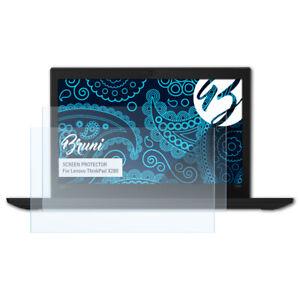 Bruni 2x Folie für Lenovo ThinkPad X280 Schutzfolie Displayschutzfolie