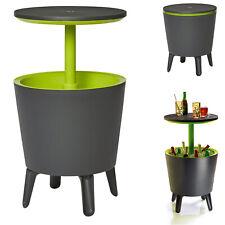 Keter Cool Bar Beistelltisch Bistrotisch Stehtisch Getränkekühler Garten Tisch