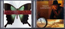 Butterfly Kisses by Bob Carlisle (CD) & Time Marches On by Tracy Lawrence (CD)