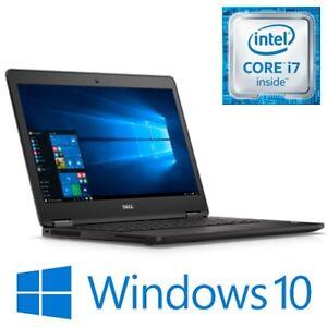 """Dell Latitude E7470 Intel Core i7 6600U 8G 240G SSD WIFI 14"""" FHD Win 10 Pro"""