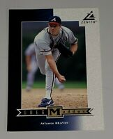RARE 5X7 Sample 1998 Pinnacle Zenith Card Greg Maddux Atlanta Braves HOF