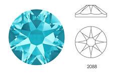 10x Swarovski® Crystals Flatback aquamarine 2088 NoHF SS34 7mm Xirius Strass