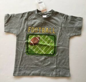 NWT Gymboree Junior Varsity Outlet 3 3T Heather Gray Football Tee