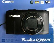 Canon PowerShot SX280 HS 12.1MP Digitalkamera - Schwarz