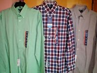 NWT NEW mens CROFT & BARROW stretch True Comfort dress shirt $45 classic fit