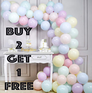"""10 - 500 Quality Pastel Finish 5"""" INCH Small Round Latex Balloons Choose Colour"""