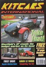 Kitcars International 06/1994 featuring Westfield, Hawk, Robin Hood, Royal Sabre