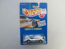1992 Hot Wheels Gleam Team Corvette Stingray No 192